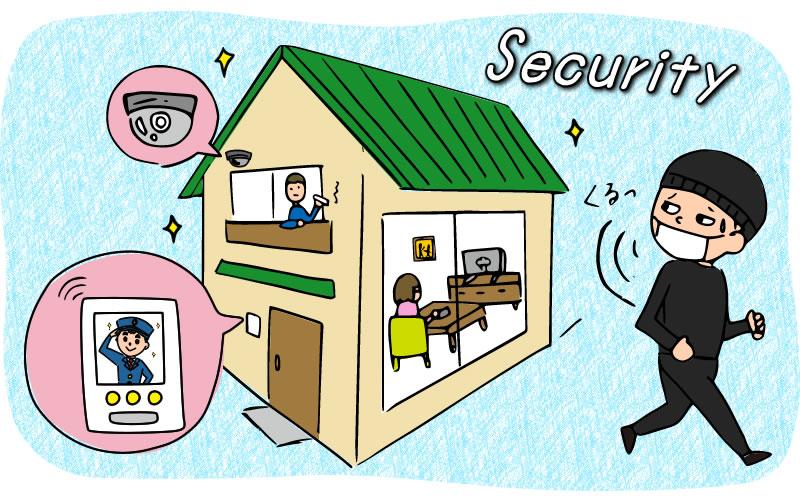 防犯サービス(ホームセキュリティー)を導入する